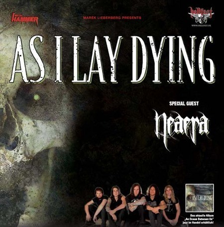 As I Lay Dying: Tour 2008