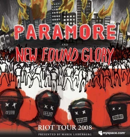 Paramore & New Found Glory: Riot Tour 2008