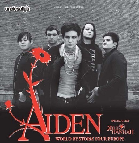 Aiden: World By Storm Tour Europe 2008