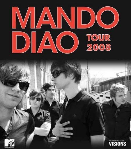 Mando Diao: Tour 2008