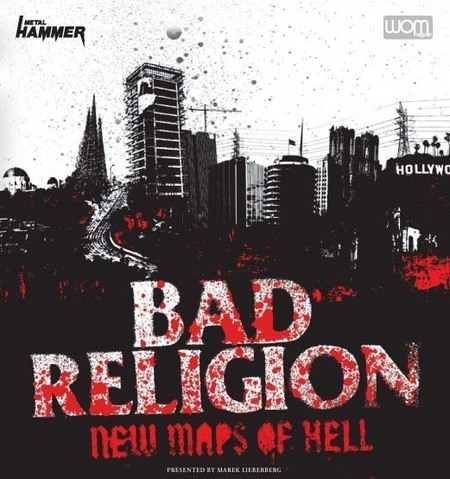 Bad Religion: New Maps Of Hell Tour 2008