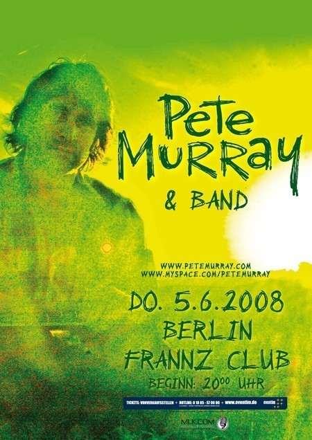 Pete Murray: & Band - Live 2008