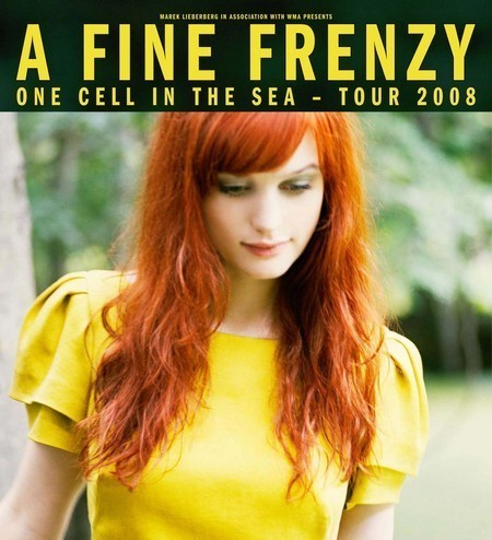 A Fine Frenzy: One Cell In The Sea Tour 2008