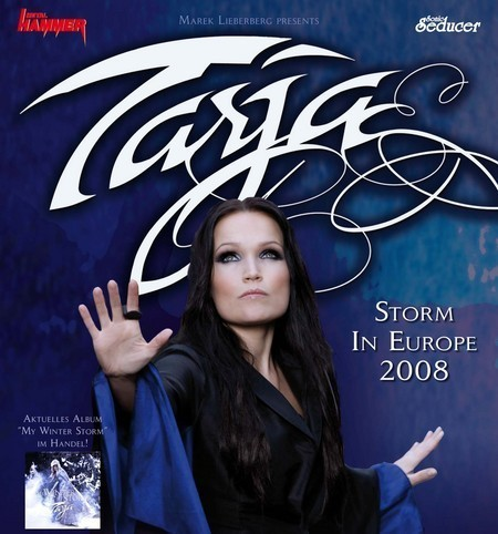Tarja: Storm in Europe 2008