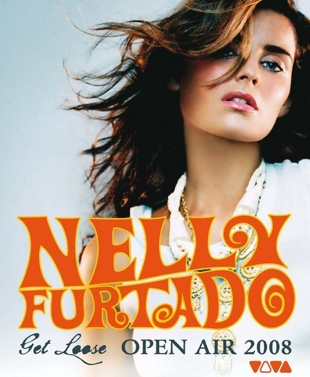 Nelly Furtado: Get Loose Open Air 2008