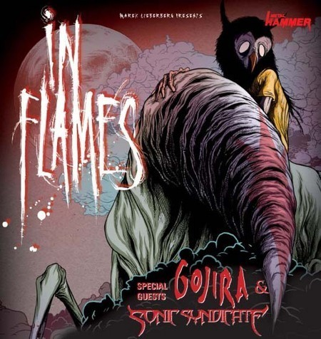 In Flames: Tour 2008