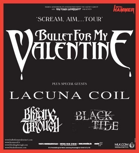 Bullet For My Valentine: Tour 2008