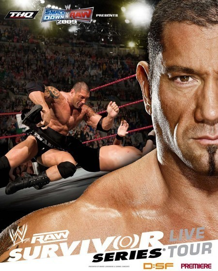 WWE RAW: Survivor Series Tour 2008