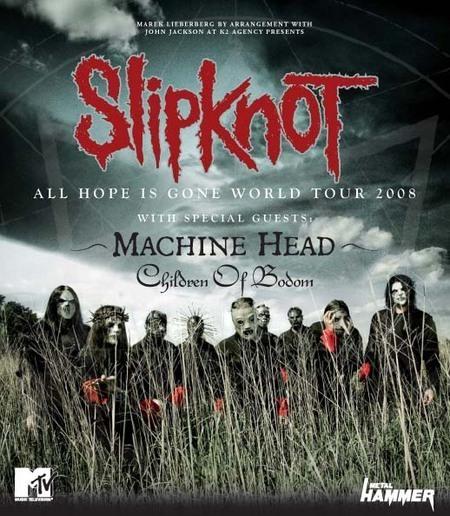 Slipknot: All Hope Is Gone World Tour 2008