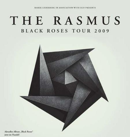 The Rasmus: Black Roses Tour 2009