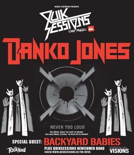 Danko Jones: Never Too Loud Tour 2009