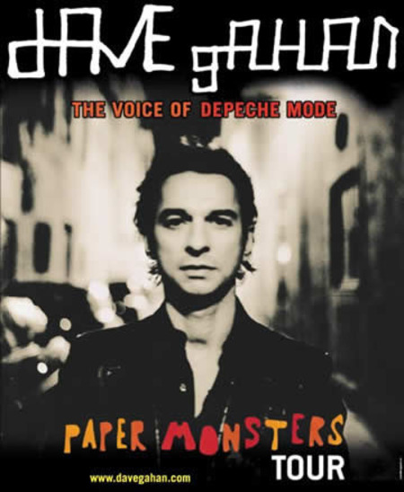 Dave Gahan: Paper Monsters Tour