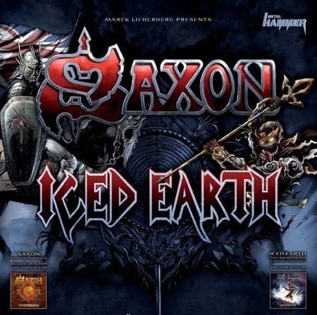 Saxon & Iced Earth: Metal Crusade 2009