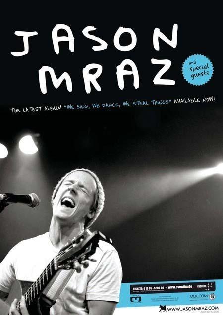Jason Mraz: We Sing, We Dance, We Steal Things - Tour 2009