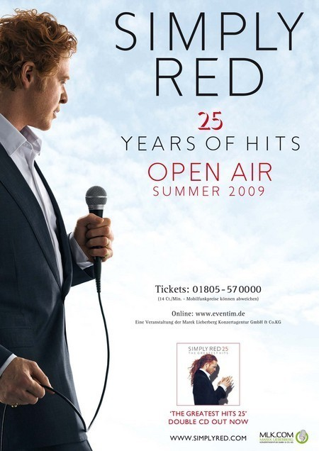 Simply Red: 25 The Greatest Hits - Open Air 2009