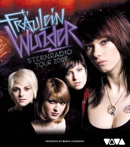 Fräulein Wunder: Sternradio Tour 2009
