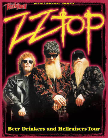 ZZ Top: Beer Drinkers and Hellraisers Tour