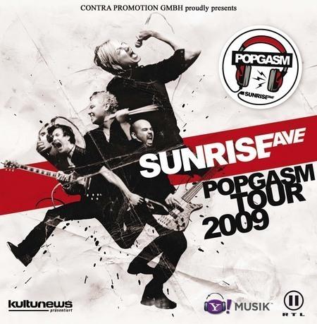 Sunrise Avenue: Popgasm Tour 2009