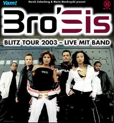 """Bro'Sis: """"Blitz-Tour 2003"""" - Live mit Band"""