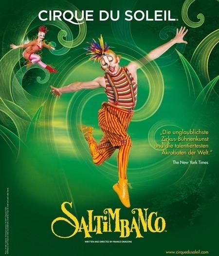 Saltimbanco: von Cirque Du Soleil - 2009/2010
