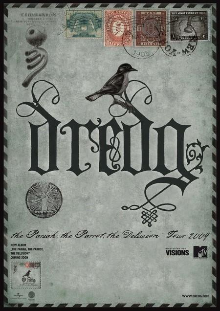 Dredg: The Pariah, The Parrot, The Delusion - Tour 2009